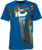 Henleys Mens Fleek T-Shirt Royal Blue Gold