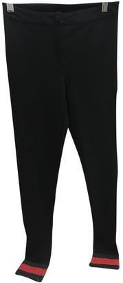 Gucci Black Viscose Trousers