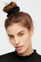 Free People Studded Velvet Scrunchie