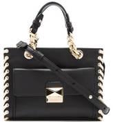 Karl Lagerfeld Women's K/Whipstitch Mini Tote Bag Black