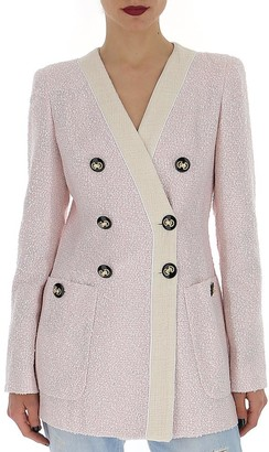 Alessandra Rich Double-Breasted Blazer