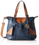 Remonte Q0472, Women's Shoulder Bag, Blau (Ozean)