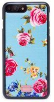 Dolce & Gabbana Rose-Print Leather iPhone 7 Case