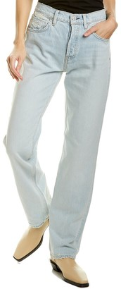 Hudson Thalia Washed Out Loose Fit Straight Leg Jean