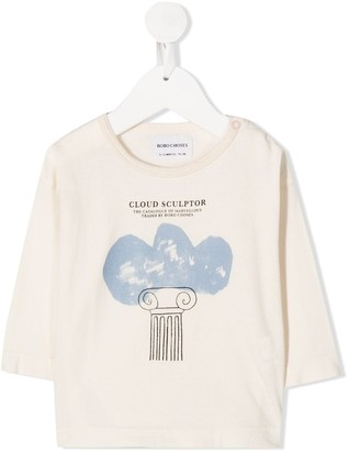 Bobo Choses Cloud Sculptor long sleeved T-shirt