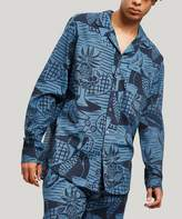 Desmond & Dempsey The Cubist Still Life Print Pyjama Shirt