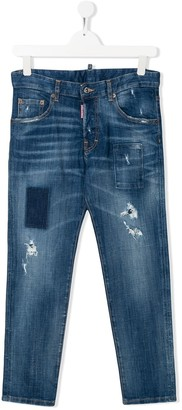 DSQUARED2 TEEN Run Dan jeans
