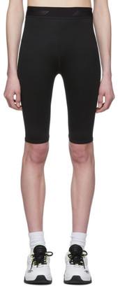 MSGM Black Biker Shorts