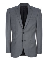 Jaeger Wool Sharkskin Modern Jacket