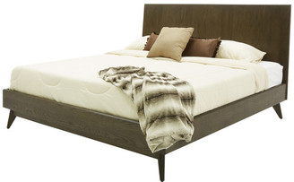 VIG Furniture Modrest Novak Modern Dark Oak Bed, Eastern King