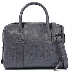 Halston Jerry Pebbled-leather Shoulder Bag