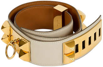 One Kings Lane Vintage Hermes Collier De Chien Parchemin Belt - Vintage Lux
