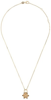 Foundrae 18kt gold Wood Element necklace
