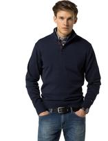 Tommy Hilfiger Cotton & Cashmere Mockneck Sweater