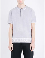 Kenzo Logo-hem Cotton-piqué Polo Shirt