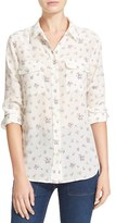 Equipment Women's Slim Signature Floral Silk Shirt