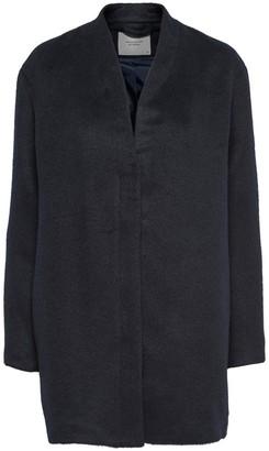 Jacqueline De Yong Zip-Up Mid Length Coat