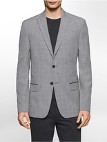 Calvin Klein Slim Fit Glen Plaid Jacket