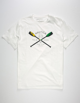 Nautica Palm Oars Mens T-Shirt