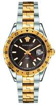 Versace Men's 'HELLENYIUM GMT' Swiss Quartz Stainless Steel Casual Watch (Model: V11040015)