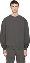 Noon Goons Grey Cotton Simple Pullover