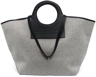 Hereu large Cala canvas tote bag