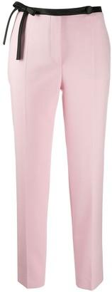 Prada Bow-Detail Trousers