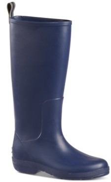 totes Women's Cirrus Claire Tall Lightweight Waterproof Rainboots Women's Shoes