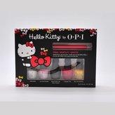 OPI Hello Kitty Nail Lacquer Collection 5 Mini Set, .125 fl. oz + Nail Art Tool