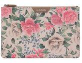 Lodis Bouquet Leather Flat Pouch