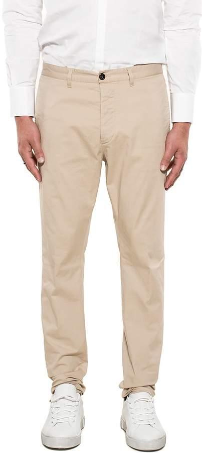 DSQUARED2 Beige Gabardine Trousers
