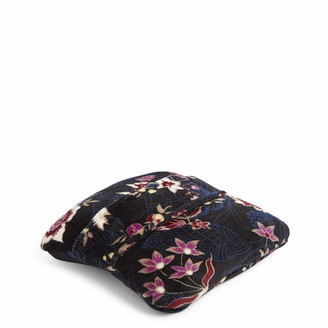 Vera Bradley Women's Fleece Travel Blanket with Trolley Sleeve Plush