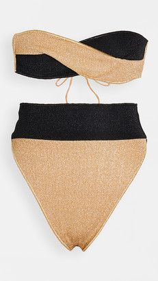 Oseree Twist Two Piece Bikini Set