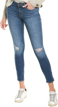 Hudson Krista Wraith Destructed Skinny Ankle Cut Jean