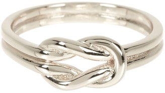 Sterling Forever Sterling Silver Double Love Knot Ring