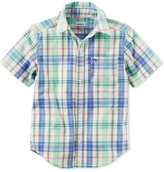 Carter's Plaid Cotton Shirt, Toddler Boys (2T-4T)