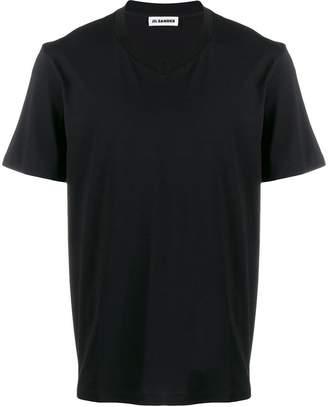 Jil Sander regular fit V-neck T-shirt