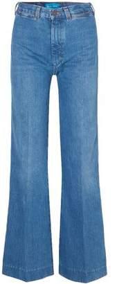 MiH Jeans + Bay Garnett Bay High-rise Wide-leg Jeans