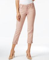 Mavi Jeans Ada Cuffed Smoke Rose Wash Boyfriend Jeans
