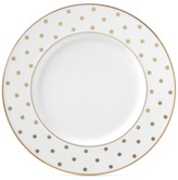 Kate Spade Larabee Road Gold Bone China Accent Plate