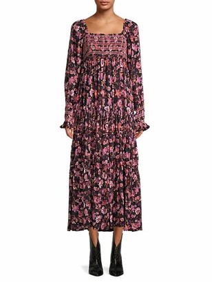 Free People Sweet Escape Print Dress