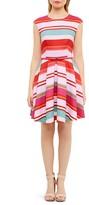 Ted Baker Pier Stripe Skater Dress
