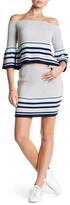 Lovers + Friends Skye Knit Striped Skirt