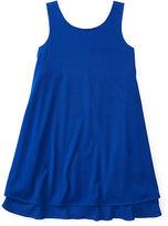 Ralph Lauren 7-16 Tiered Sleeveless Dress