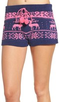 Betsey Johnson Women's Sweater Pajama Shorts