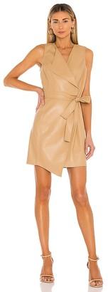 BCBGMAXAZRIA Napa Leather Day Dress