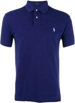 Polo Ralph Lauren logo embroidered polo shirt - men - Cotton - S