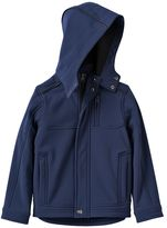 Urban Republic Boys 4-7 Hooded Fleece-Lined Soft Shell Jacket