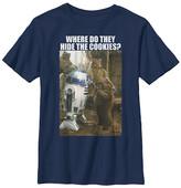 Fifth Sun Boys' Tee Shirts NAVY - Star Wars Navy 'Where Did They Hide the Cookies' Tee - Boys
