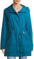 Hunter Organic Cotton Waterproof Hooded Coat